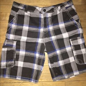 Men's carbon shorts 36